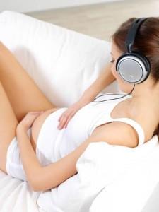 Schwangerschaft Baby Musik